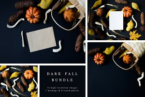 Dark Fall Mockup Bundle