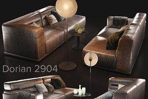 Sofa natuzzi Dorian 2904