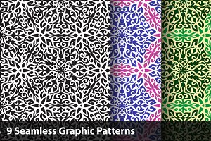 Graphic Seamless Pattern Set