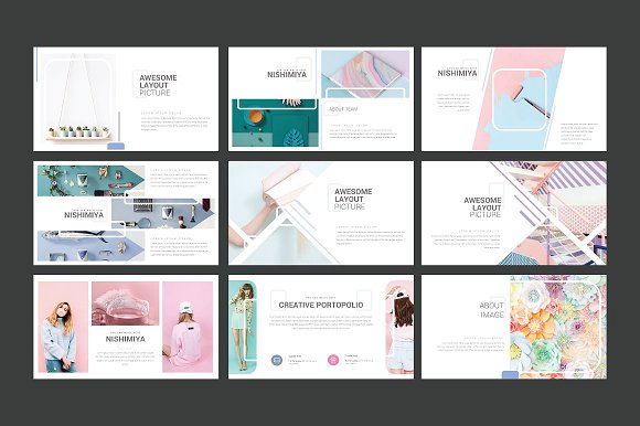 Nishimiya Google Slide in Google Slides Templates - product preview 2
