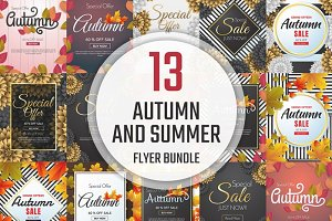 [94%OFF] 13 Autumn and summer Flyer