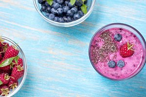 smoothies with chia seeds