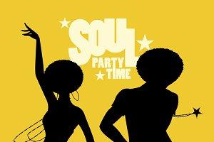 Soul dancers silhouettes (VI)