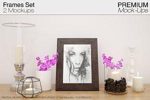 Frame Mockup Set