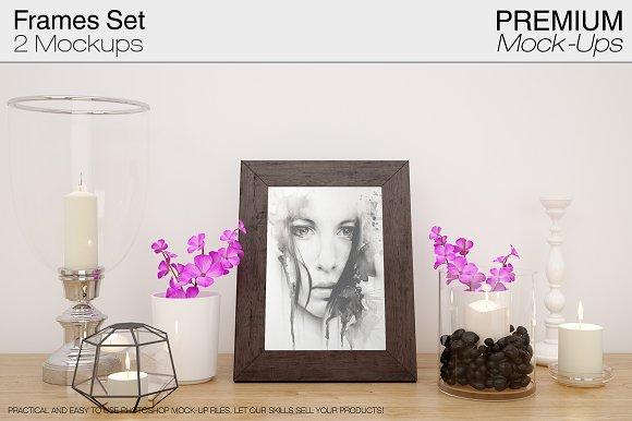 Frame Mockup Set-Graphicriver中文最全的素材分享平台