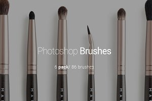 Photoshop Brushes 6 Packs - 25%off