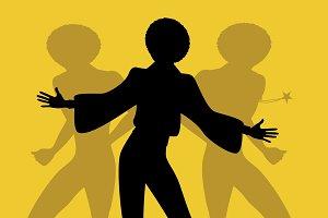 Soul dancers silhouettes (IX)