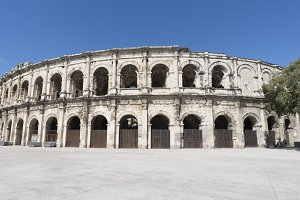 The city of Nimes