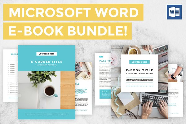 Microsoft Word E-book/Ecourse Bundl…