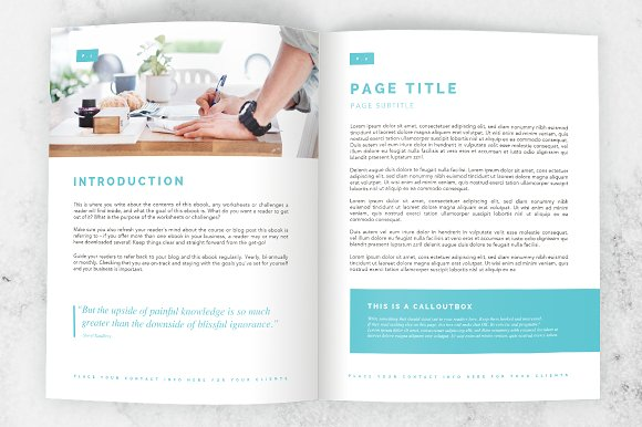 Microsoft Word E-book/Ecourse Bundle in Templates - product preview 4
