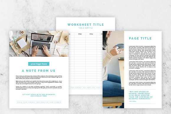 Microsoft Word E-book/Ecourse Bundle in Templates - product preview 7
