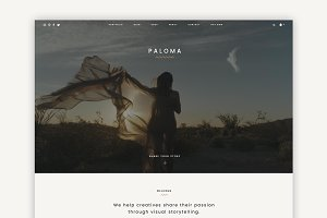 Paloma - Multipurpose Theme