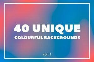 40 Unique Blurred Backgrounds