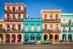 Colonial buildings, Havana
