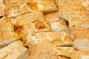 Italian bread background