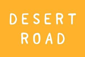 Desert Road 2 Typeface