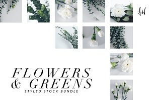 Flowers & Greens - Styled Bundle