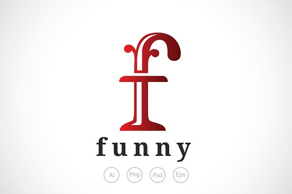 letter f logo template logo templates creative market