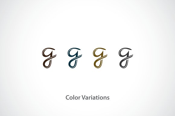 Letter G Logo Template Templates Creative Market
