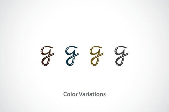 Letter G Logo Template Templates Creative Market