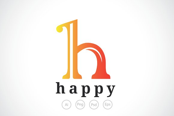Letter h logo template logo templates creative market letter h logo template pronofoot35fo Gallery