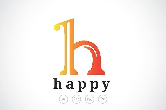 letter h logo template logo templates creative market