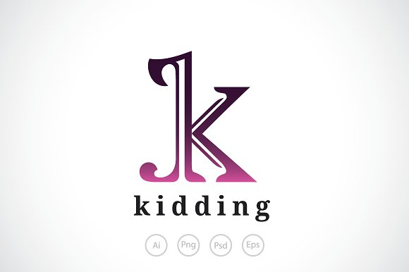 Letter k logo template logo templates creative market letter k logo template logos spiritdancerdesigns Images