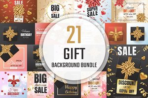 [94%OFF] 21 Gift Background