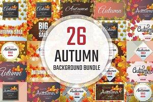 [94%OFF] 26 Autumn Background