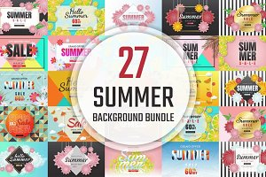[94%OFF] 27 Summer Background