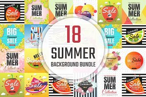 [94%OFF] 18 Summer Background