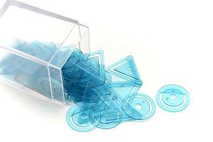 box of clips geometric