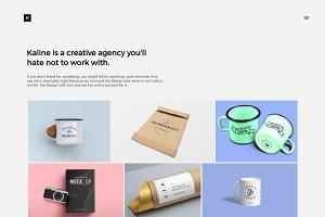 Kaline - Creative Agency Portfolio