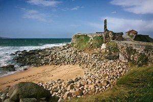 landscape of the Galician coast