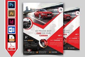 Rent A Car Flyer Template Vol-03