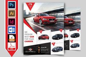 Rent A Car Flyer Template Vol-04