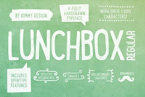 LUNCHBOX Regular +Webfont