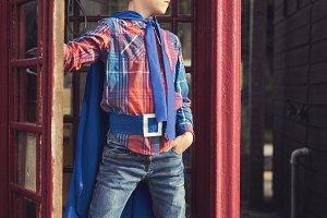 Boy Children Kid Superhero