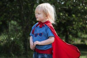 Superhero Little Boy