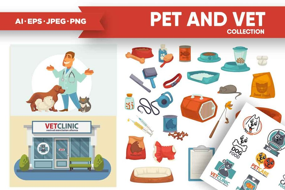 Pet and Vet collection