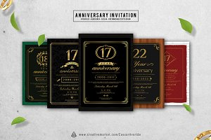 5 Anniversary Invitation