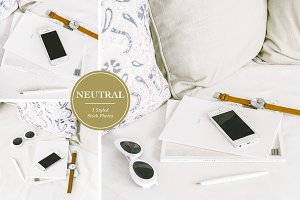 Neutral iPhone Styled Stock Photos
