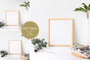 Neutral Frame Styled Stock Photos