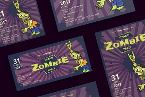 Flyers | Zombie Party
