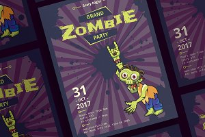 Posters | Zombie Party