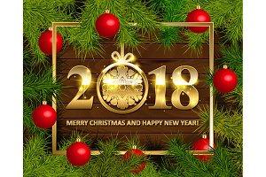 2018! Happy New Year!