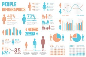 People Infographics