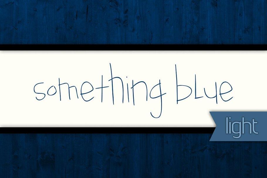 Something Blue Light