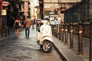 Retro scooter (Naples, Italy)
