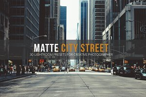 Matte City Street Lightroom Presets